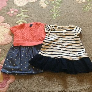 Two toddler GAP dresses 2T